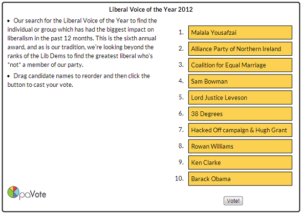 lib voice vote 2012
