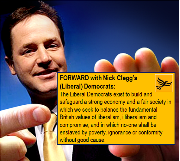 nick clegg lib dem membership card - 2013