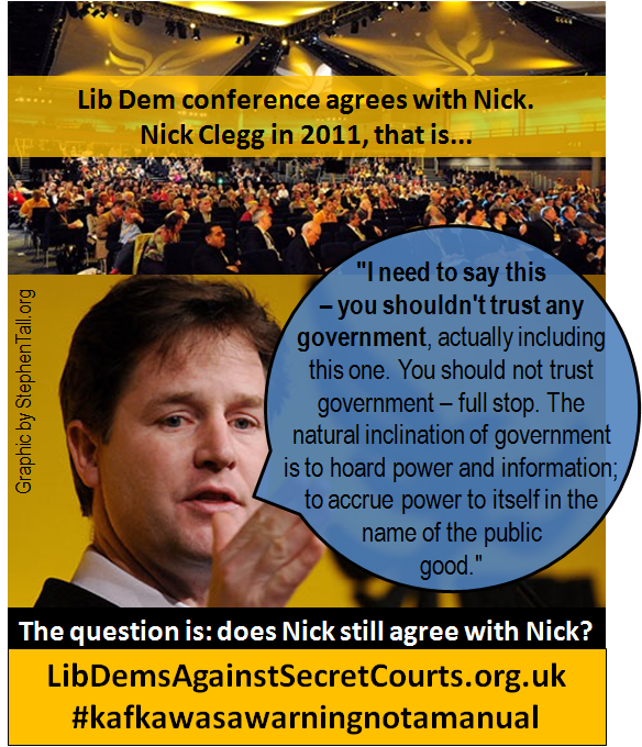 nick clegg secret courts